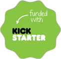 Funded By Kickstarter Badge